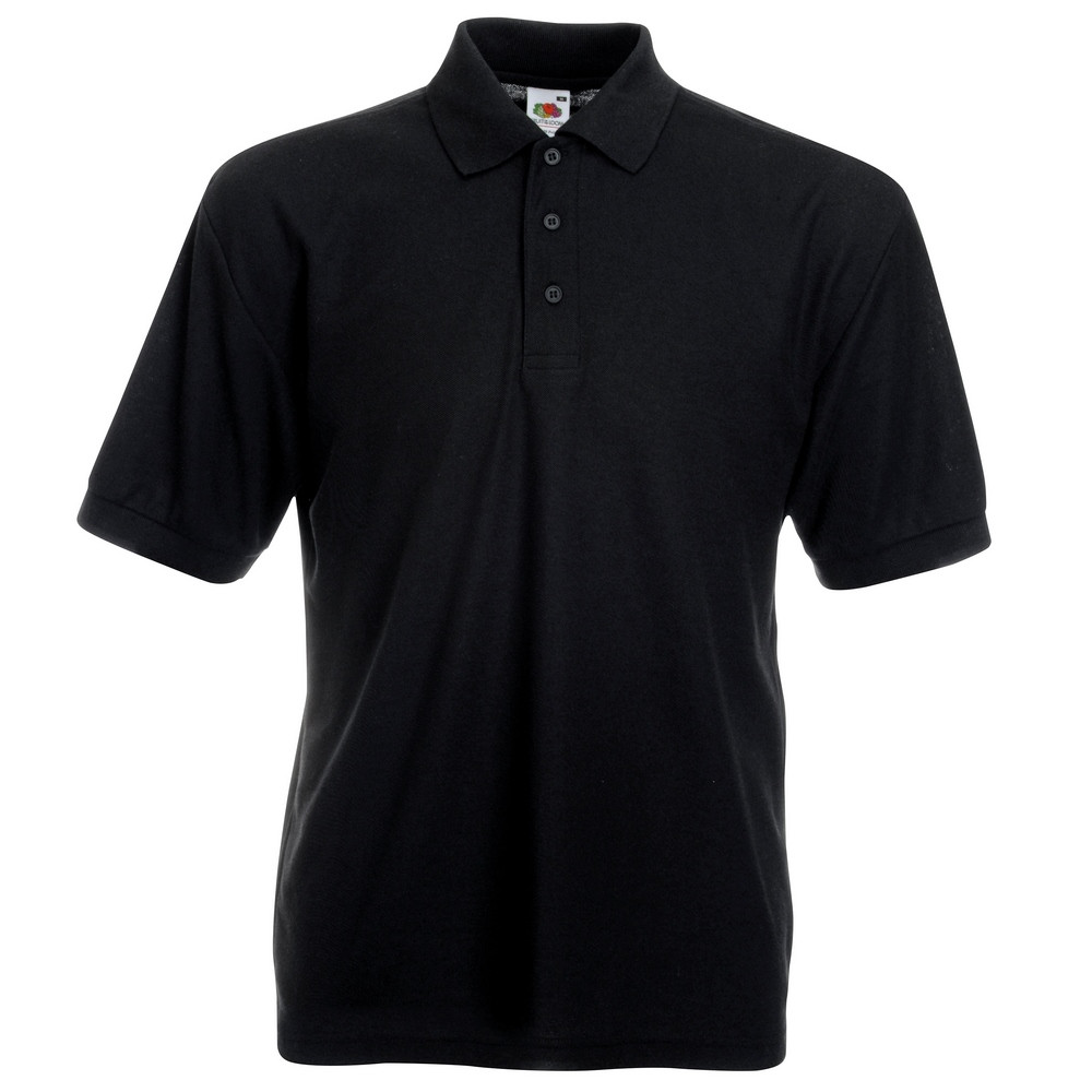 CYRENZO - Polo Homme mélange de 65 % polyester et 35 % coton - FRUIT OF THE LOOM - (Polos Homme)
