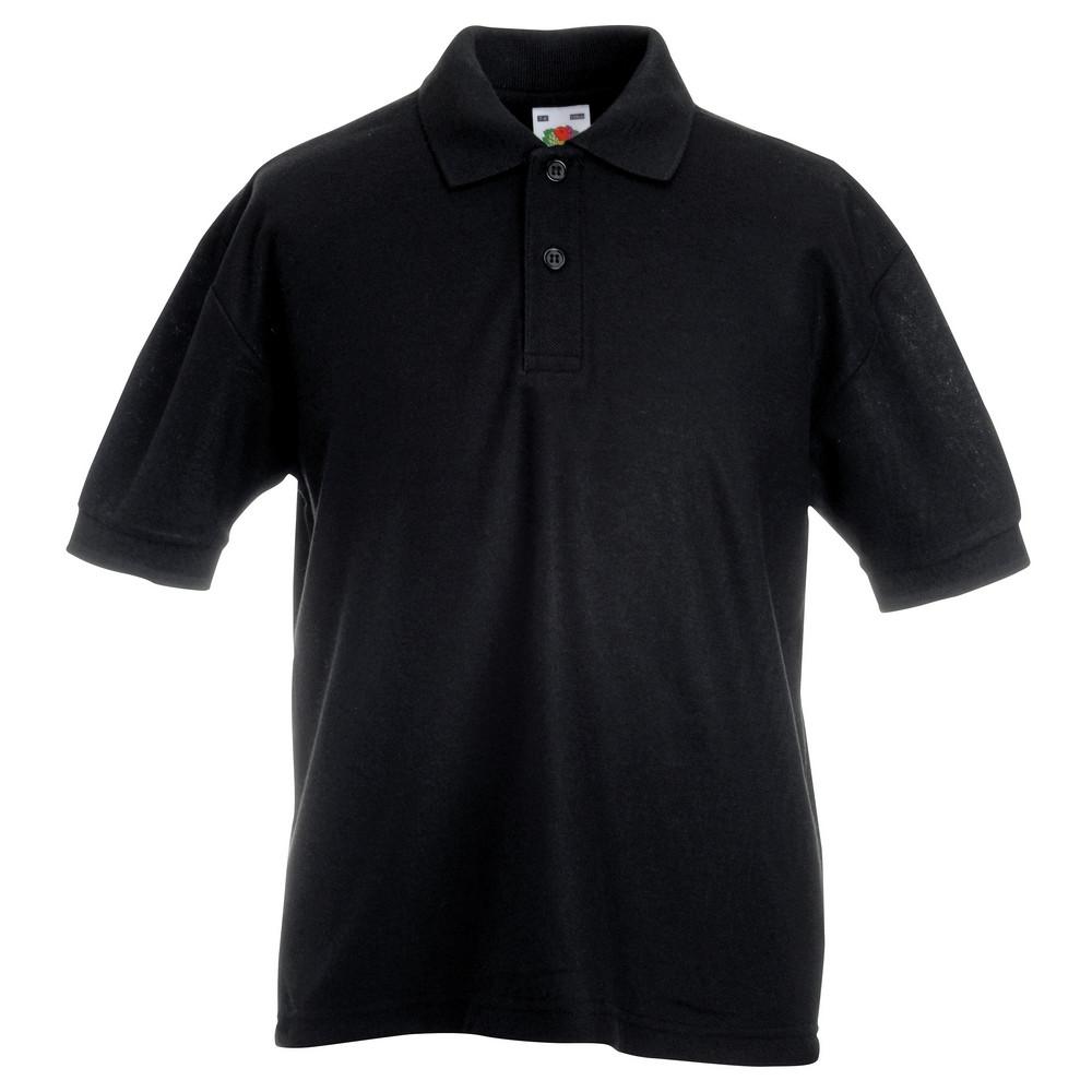 CYRENZO - Polo Enfant mélange de 65 % polyester et 35 % coton - FRUIT OF THE LOOM - (T-shirts, débardeurs et polos enfant)