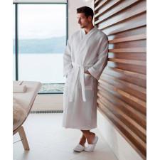 CYRENZO - Peignoir de bain en tissu gaufré - Towel City - (Les bonnes affaires du moment chez Cyrenzo Distrib)