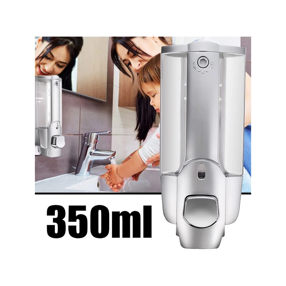 CYRENZO - Distributeur de savon à main support mural 350ml - CYRENZO - (Ustensiles de cuisine professionnels)
