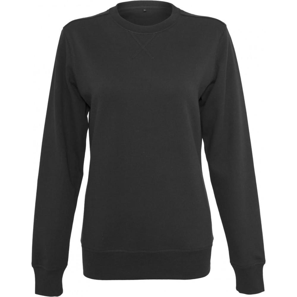 CYRENZO - Sweat femme fuselé léger, Col rond - Build Your Brand - (Pulls, sweats et gilets femme)