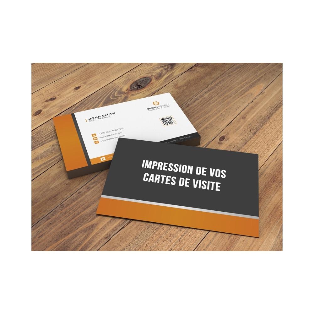 CYRENZO - Impression de votre carte de visite - CYRENZO - (Communication visuelle)