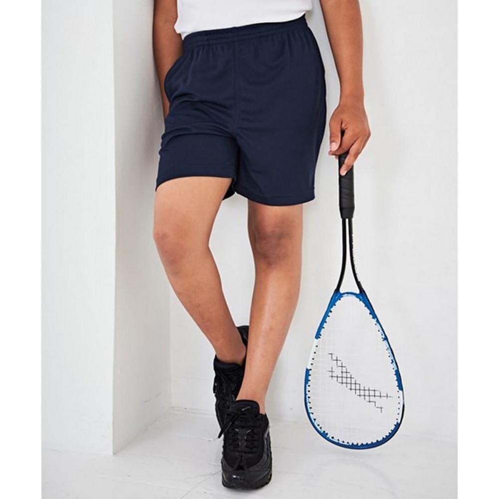 CYRENZO - Short de sport pour enfant avec deux poches latérales - ADWIS JustCool - (Shorts et Pantalons de sport enfant)