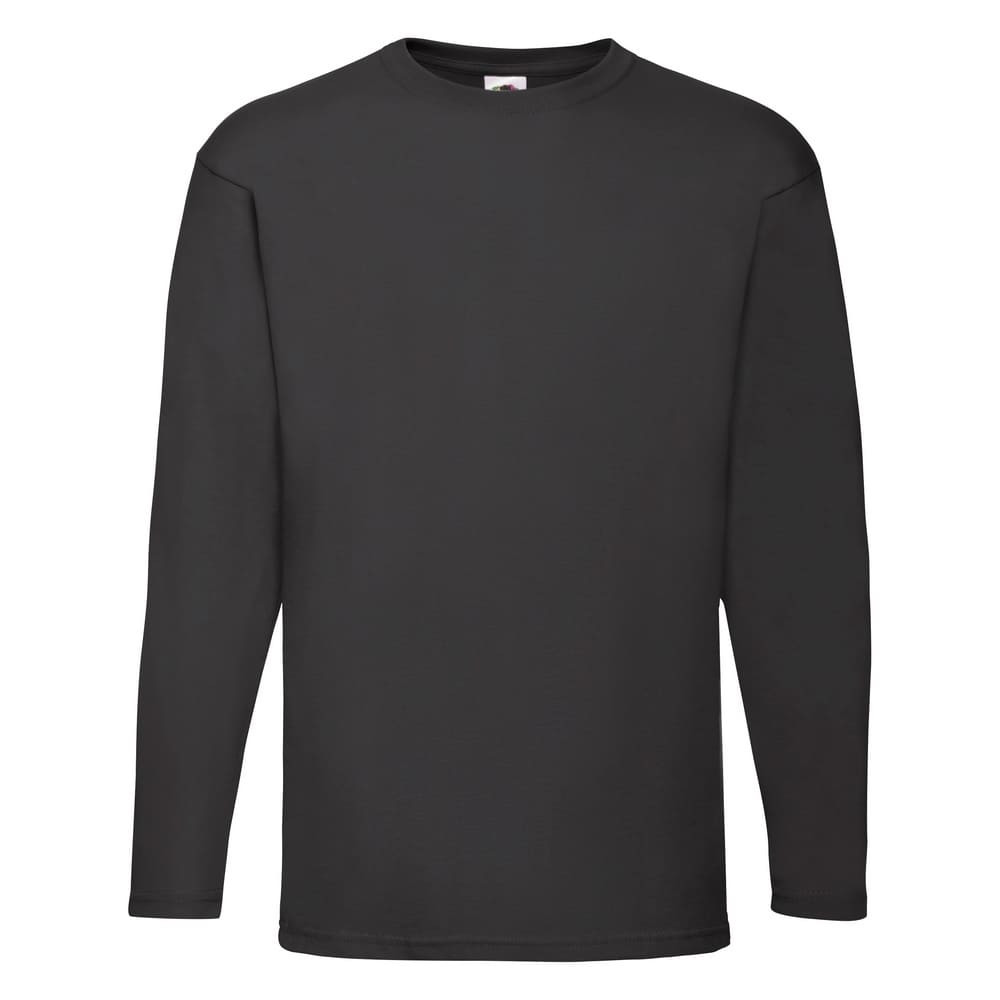 CYRENZO - T-shirt homme manches longues Valueweight Fruit Of The Loom - FRUIT OF THE LOOM - (T shirts & Débardeurs Homme)