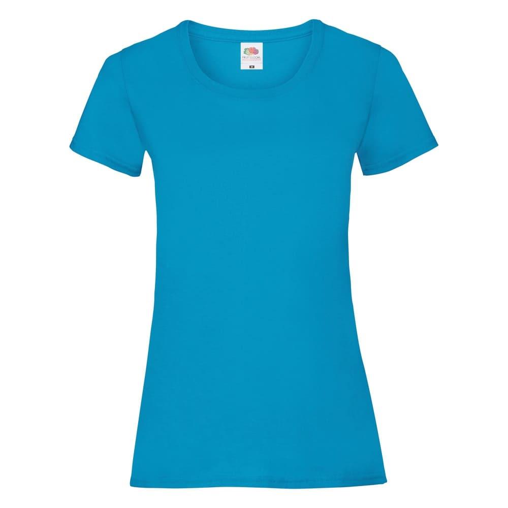 CYRENZO - T-shirt femme Valueweight Fruit Of The Loom - FRUIT OF THE LOOM - (T shirts, Débardeurs, Polos femme)