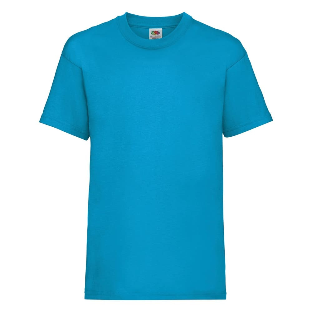 CYRENZO - T-shirt Enfant cintré Valueweight Fruit Of The Loom - FRUIT OF THE LOOM - (T-shirts, débardeurs et polos enfant)