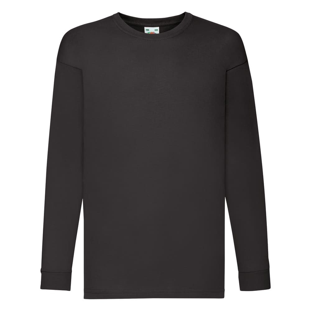 CYRENZO - T-shirt Enfant à manches longues valueweight Fruit Of The Loom - FRUIT OF THE LOOM - (T-shirts, débardeurs et polos enfant)