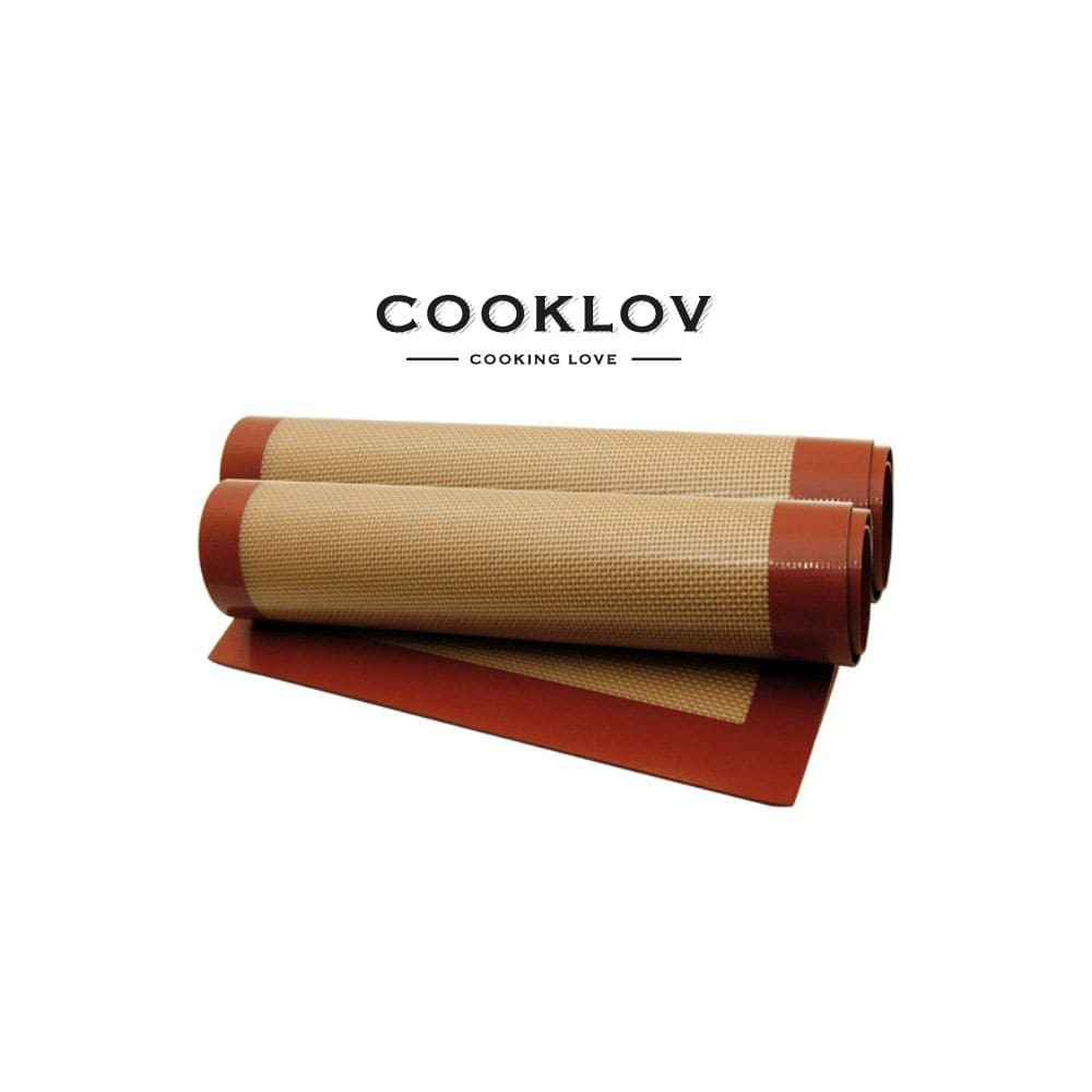 Toile de cuisson antiadhérente en silicone 40 cm x 30 cm COOKLOV