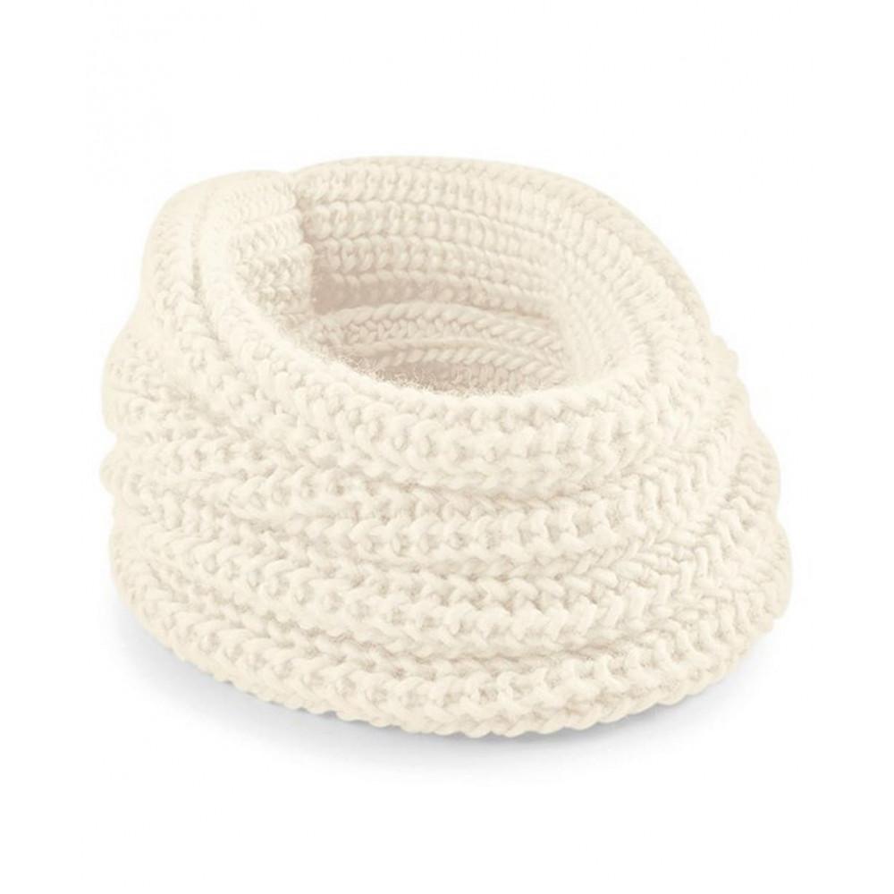 CYRENZO - Écharpe tube Eternity douce en tricot épais - BEECHFIELD - (Gants, écharpes et accessoires d'hiver)