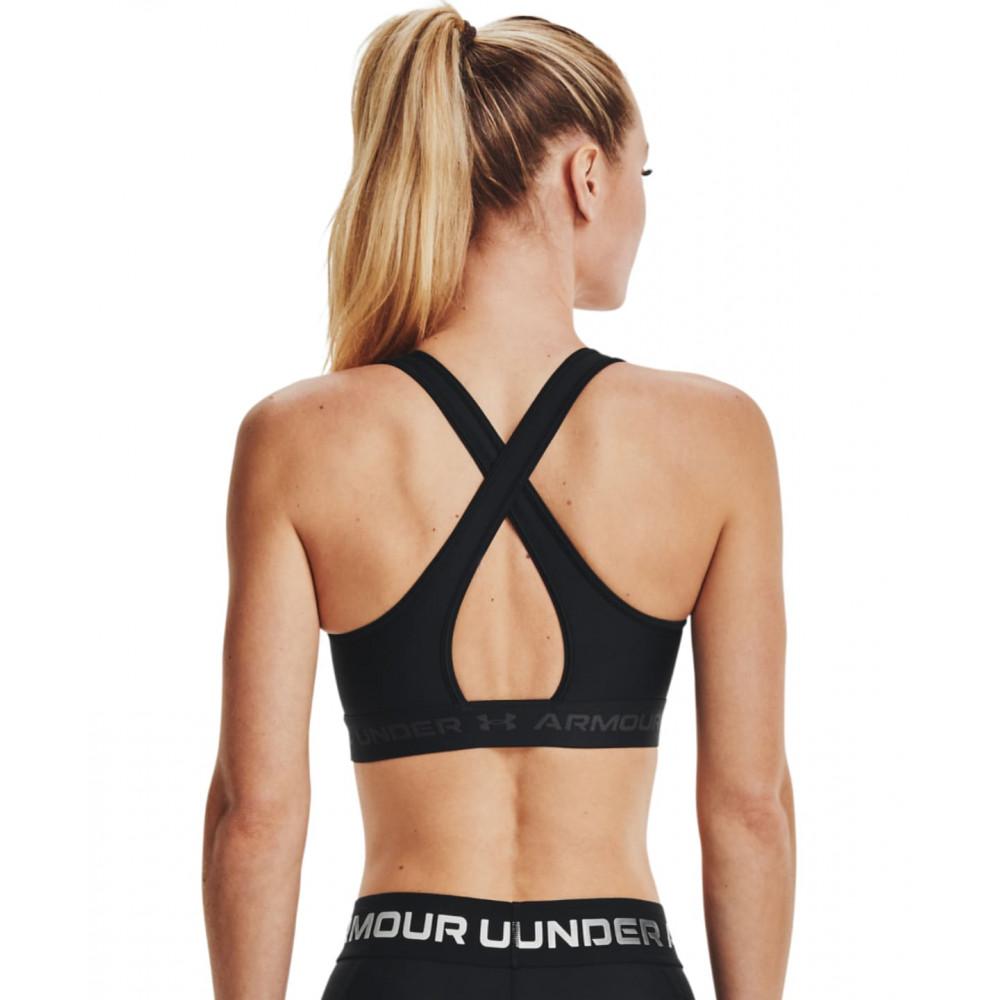 CYRENZO - Soutien-gorge Armour® Mid Crossback Sports - Under Armour - (Leggings & Pantalons de sport femme)
