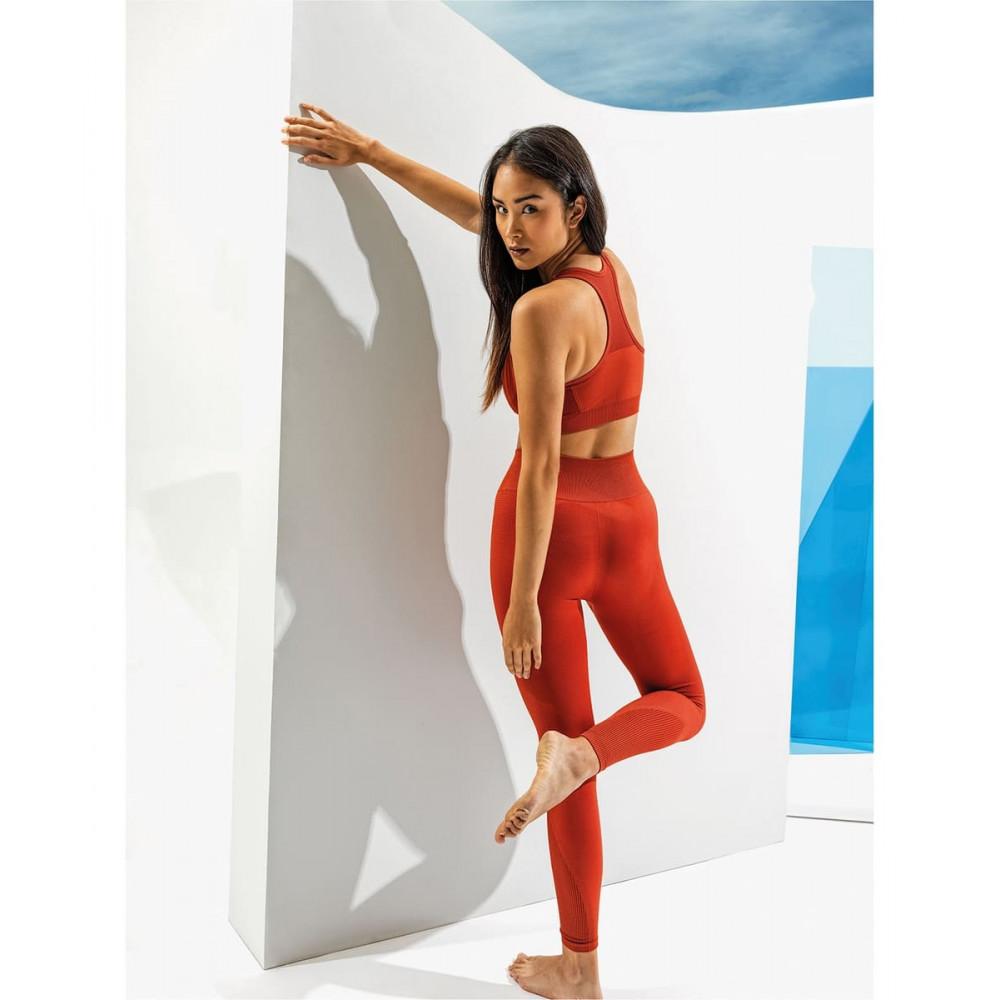 CYRENZO - Brassière femme multisports Sculpt, coupe 3D, sans coutures - TRIDRI® - (Leggings & Pantalons de sport femme)