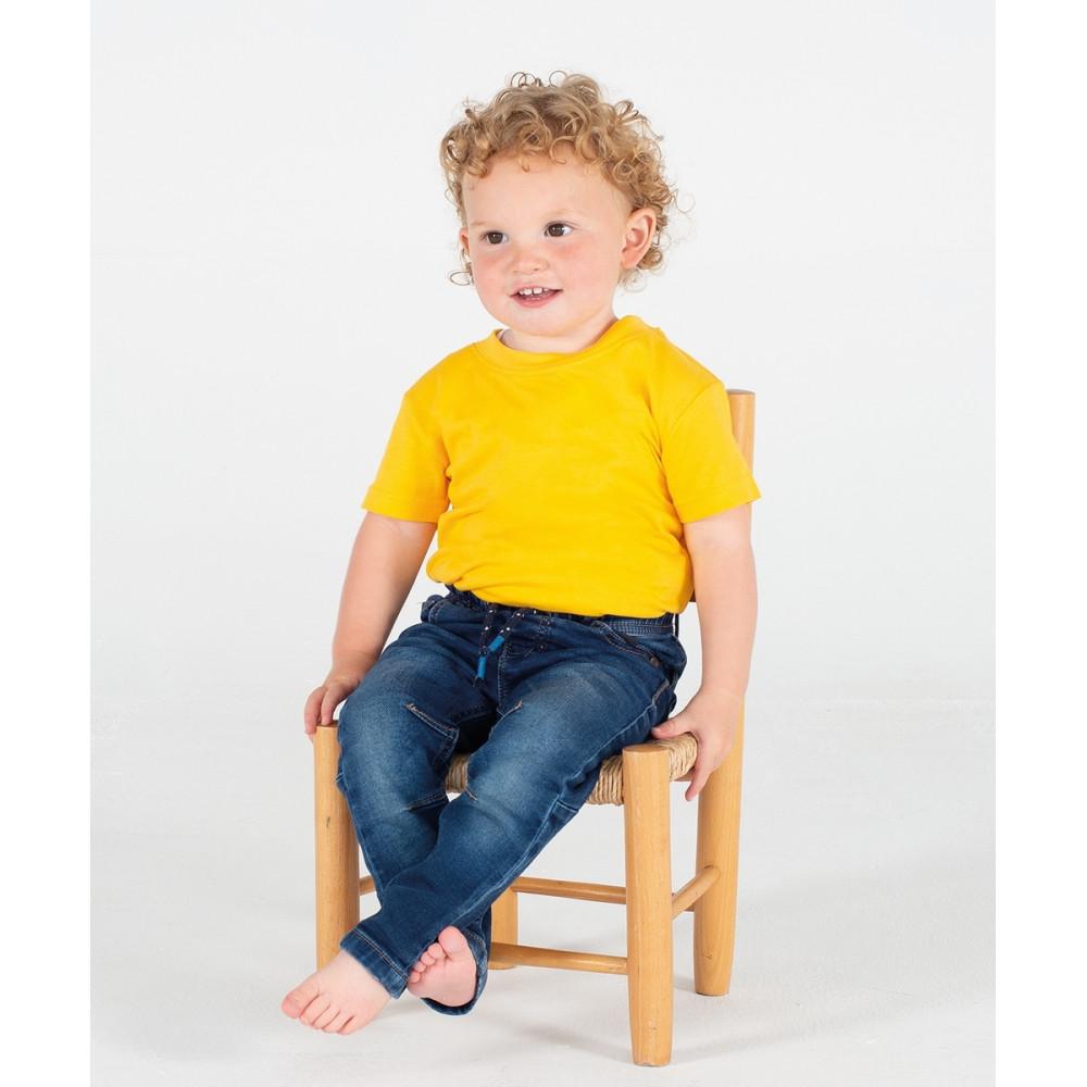 T-shirt bébé et enfant en coton