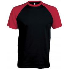 CYRENZO - T-shirt bicolore premium manches courtes - KARIBAN - (T shirts & Débardeurs Homme)