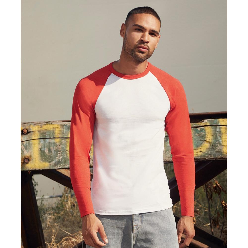 T-shirt baseball manches longues