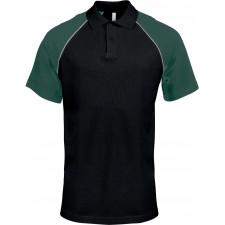 CYRENZO - Polo baseball premium manche courtes - KARIBAN - (Polos Homme)