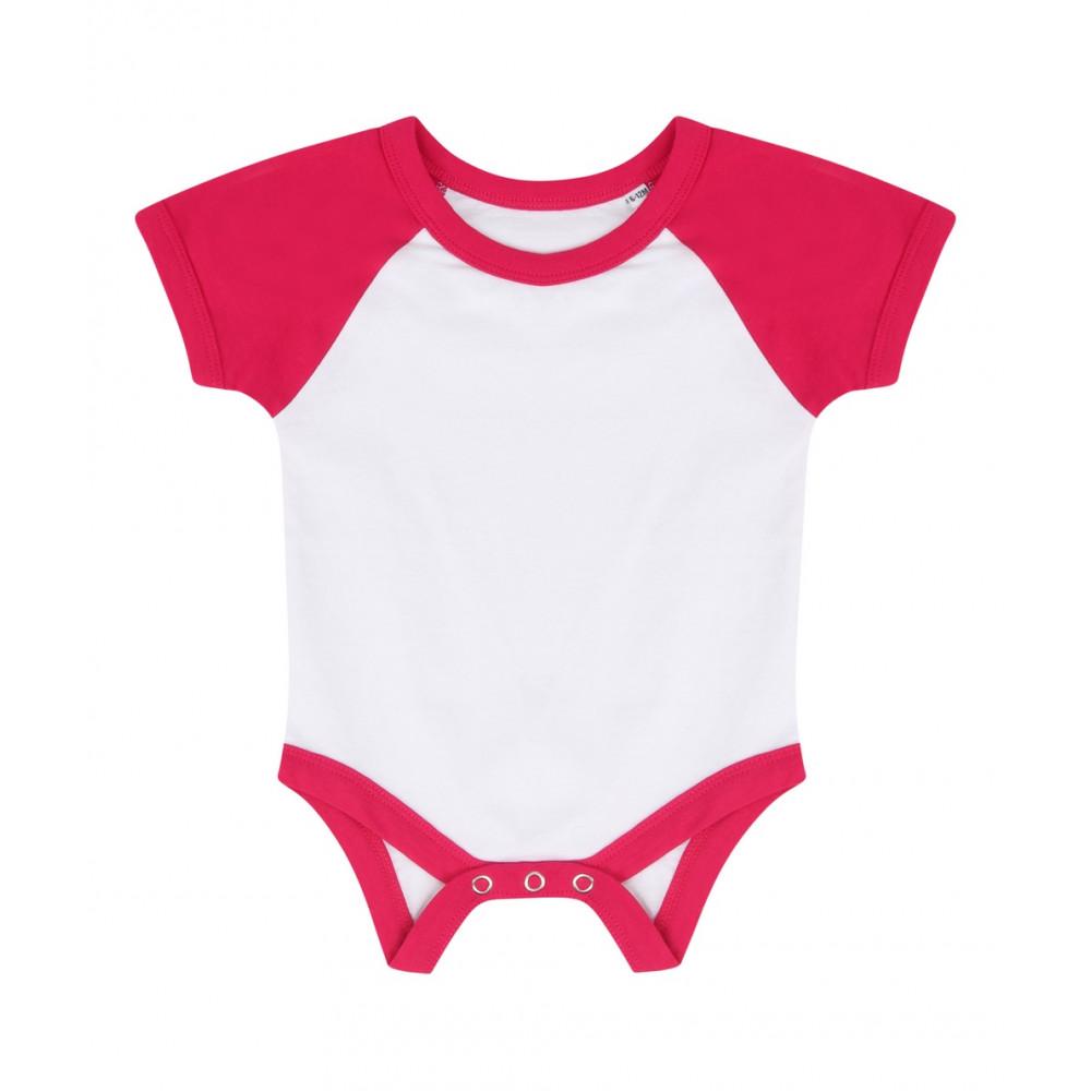 CYRENZO - Body bébé baseball à manches courtes - LARKWOOD - (Vêtements pour bébé & tout petit)