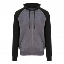 CYRENZO - Sweat-shirt à capuche Baseball zippé - ADWIS JustHoods - (Sweats, pulls et gilets Homme)