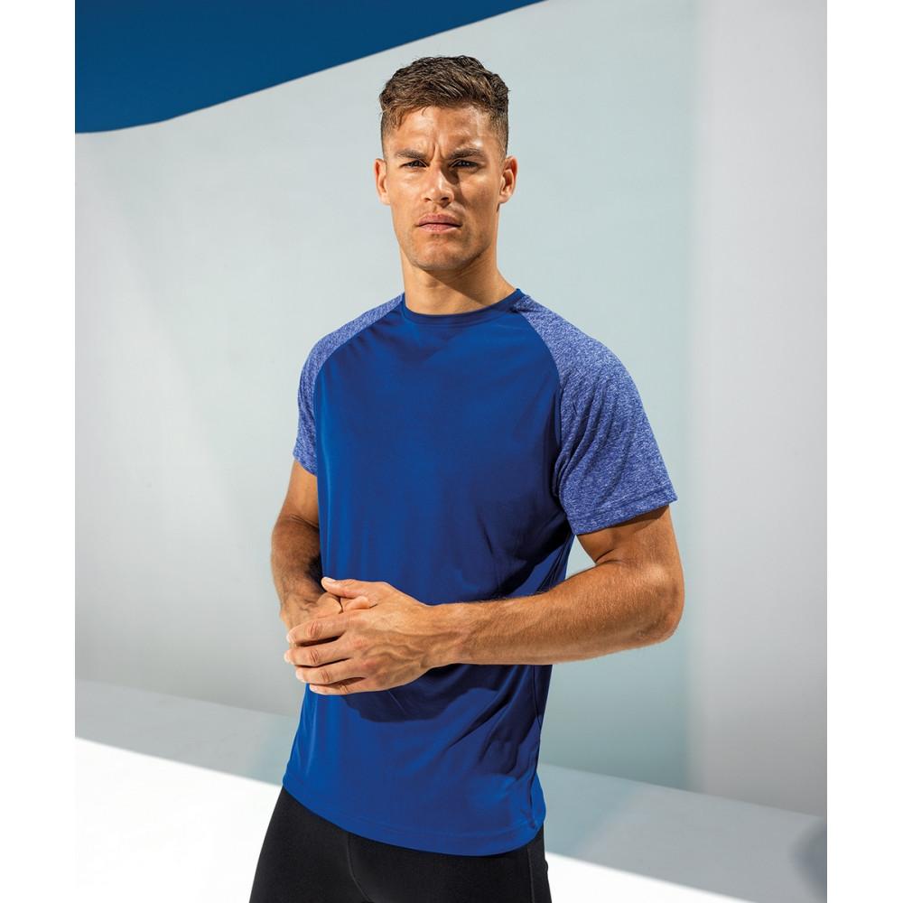 T-shirt performance polyester manches contrastées TriDri