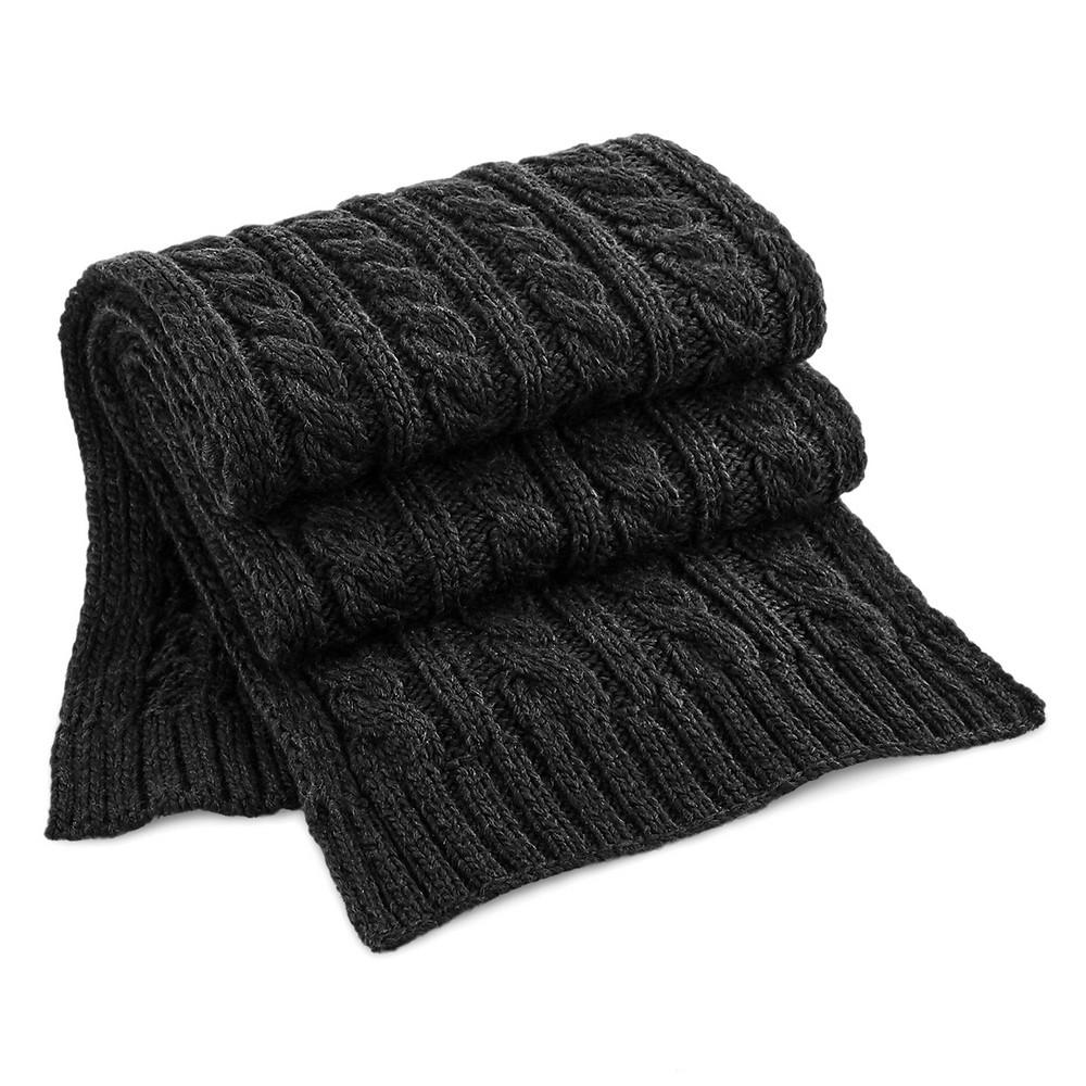 CYRENZO - Echarpe en laine mélangée torsadée - BEECHFIELD - (Gants, écharpes et accessoires d'hiver)