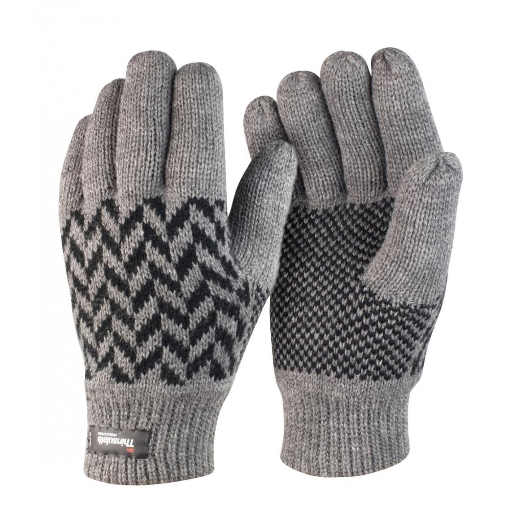 CYRENZO - Paire de Gants thinsulate à motifs - Result - (Gants, écharpes et accessoires d'hiver)