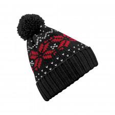 CYRENZO - Bonnet Fair Isle snowstar® - BEECHFIELD - (Bonnets Tendance et original)
