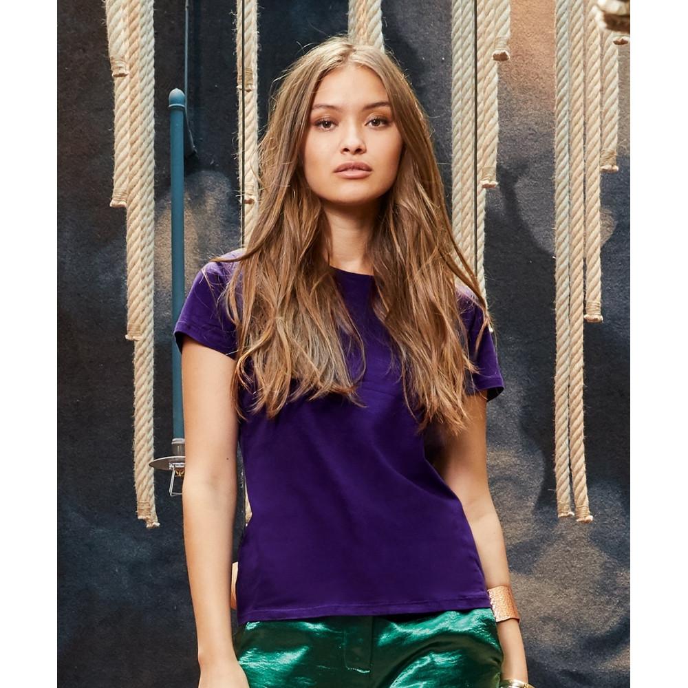 T-Shirt Coton Femme En 40 Coloris