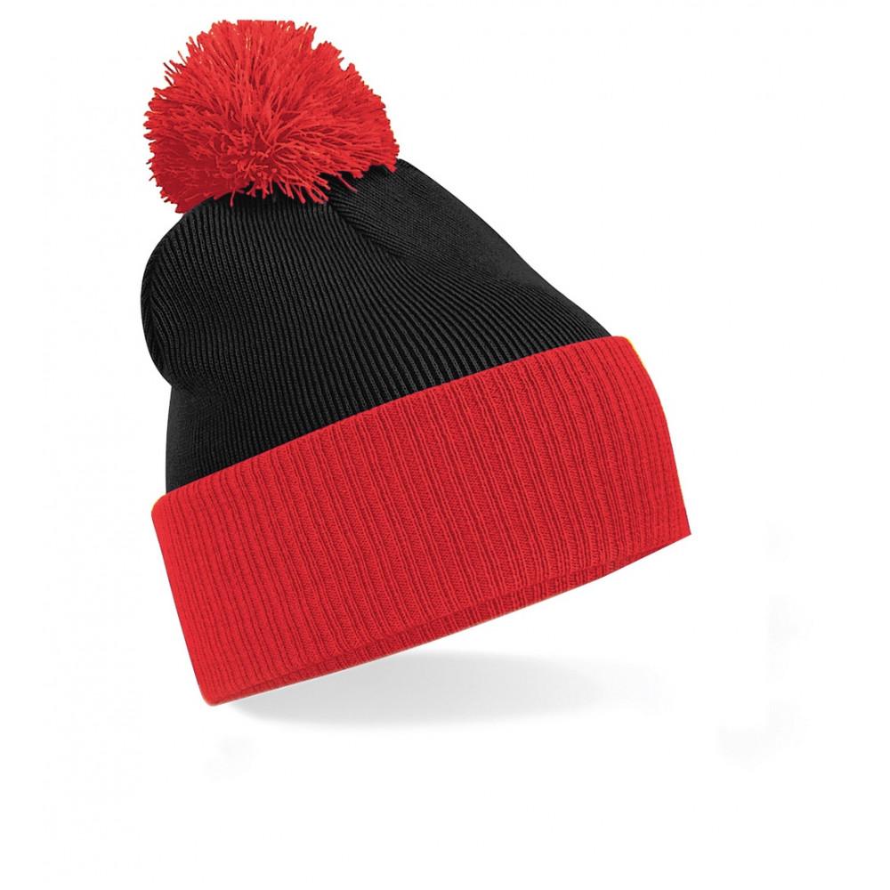 CYRENZO - Bonnet bicolore Snowstar® - BEECHFIELD - (Bonnets Tendance et original)