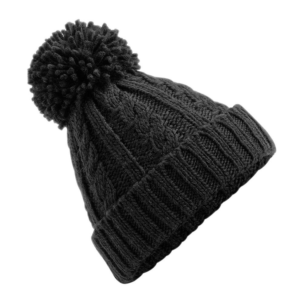 CYRENZO - Bonnet en laine mélangée torsadée - BEECHFIELD - (Bonnets Tendance et original)