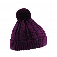 CYRENZO - Bonnet snowstar® en tricot torsadé - BEECHFIELD - (Bonnets Tendance et original)