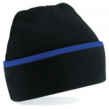 CYRENZO - Bonnet Teamwear doublé avec revers - BEECHFIELD - (Bonnets Tendance et original)