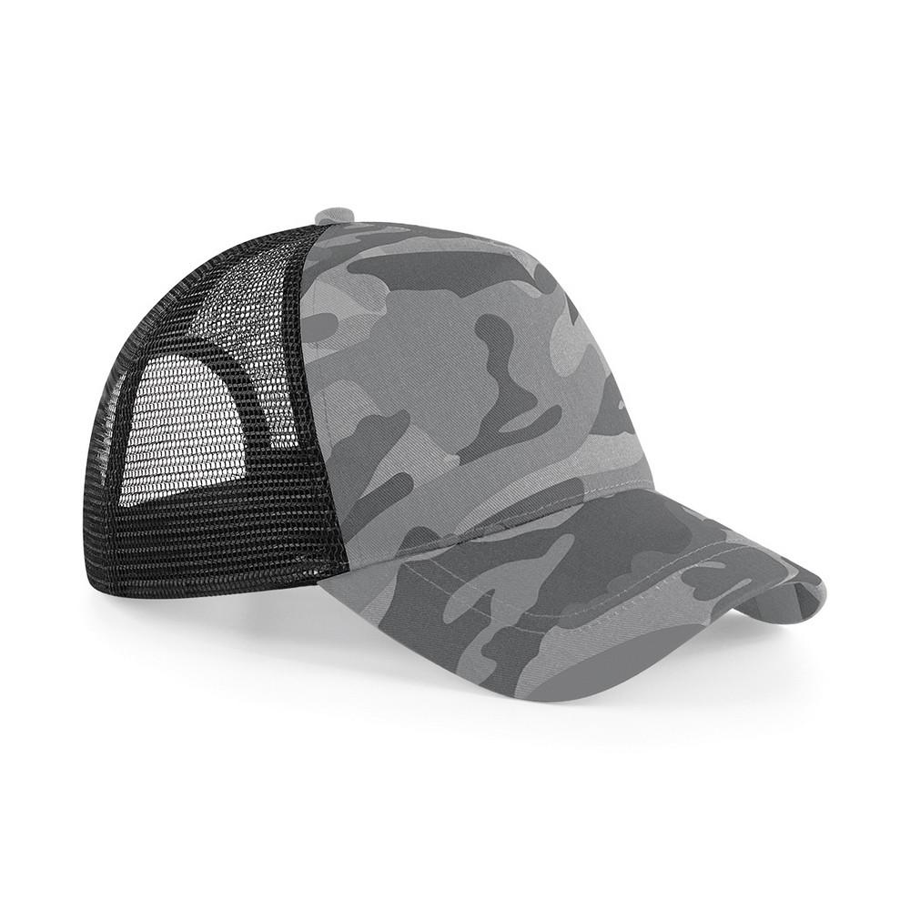 CYRENZO - Casquette snapback trucker de camouflage - BEECHFIELD - (Casquettes, bobs, bandanas et chapeaux)