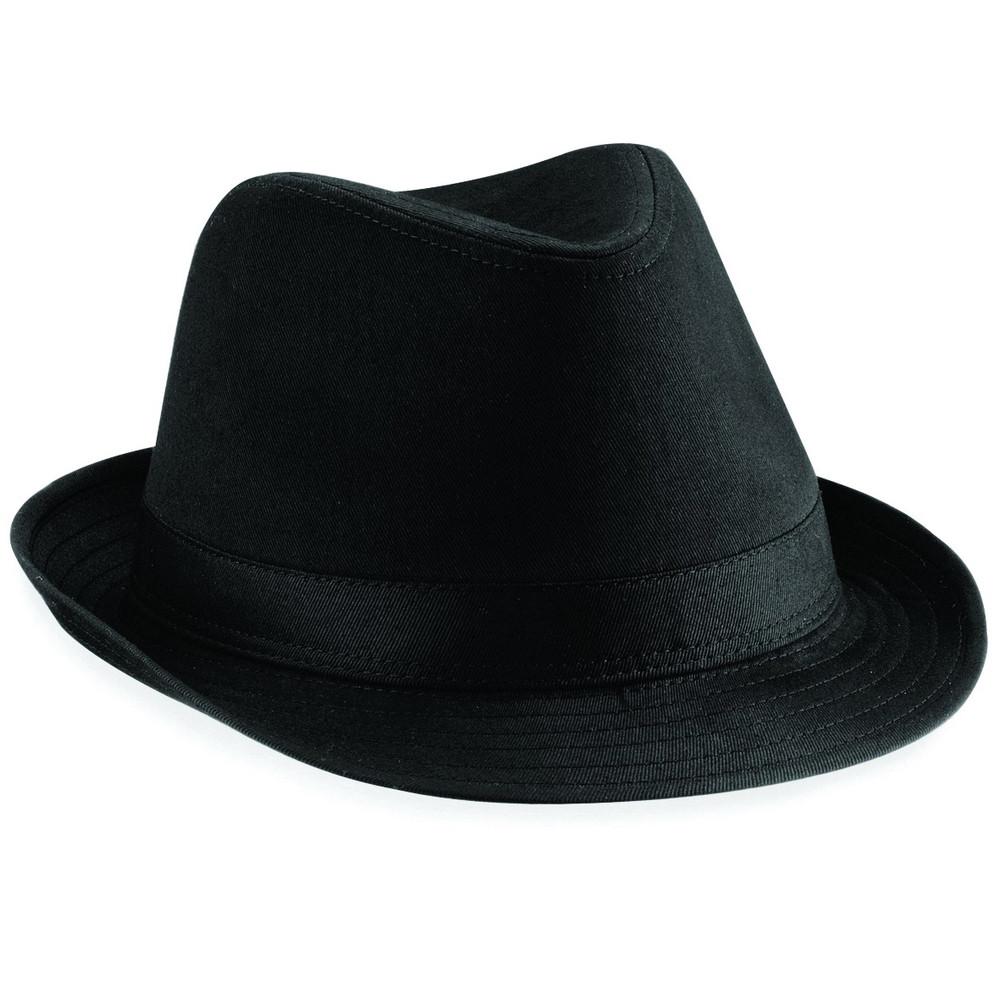 CYRENZO - Chapeau Fedora blanc ou noir, unisexe - BEECHFIELD - (Casquettes, bobs, bandanas et chapeaux)
