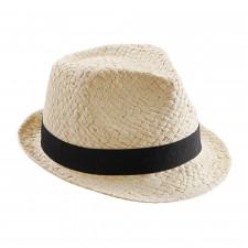 CYRENZO - Chapeau Trilby Festival noir ou naturel - BEECHFIELD - (Casquettes, bobs, bandanas et chapeaux)