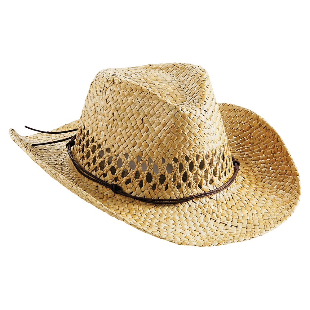 CYRENZO - Chapeau de cowboy en paille - BEECHFIELD - (Casquettes, bobs, bandanas et chapeaux)