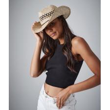 Chapeau de cowboy en paille