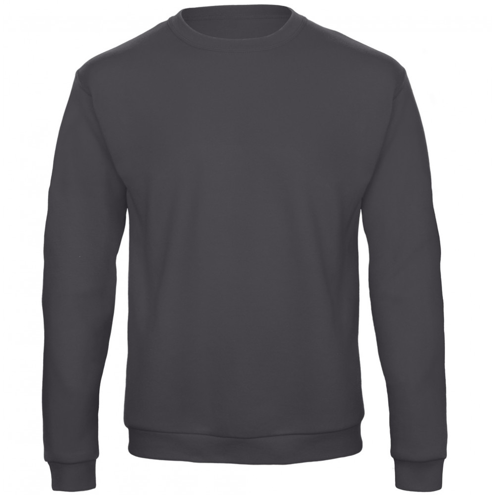 CYRENZO - Sweat-shirt col rond silhouette moderne - B&C - (Sweats, pulls et gilets Homme)