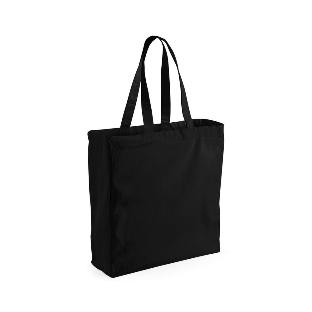 CYRENZO - Sac de courses en toile noir - Westford Mill - (Bagagerie pour vos séjours et voyages)