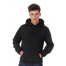 Sweatshirt coton à capuche