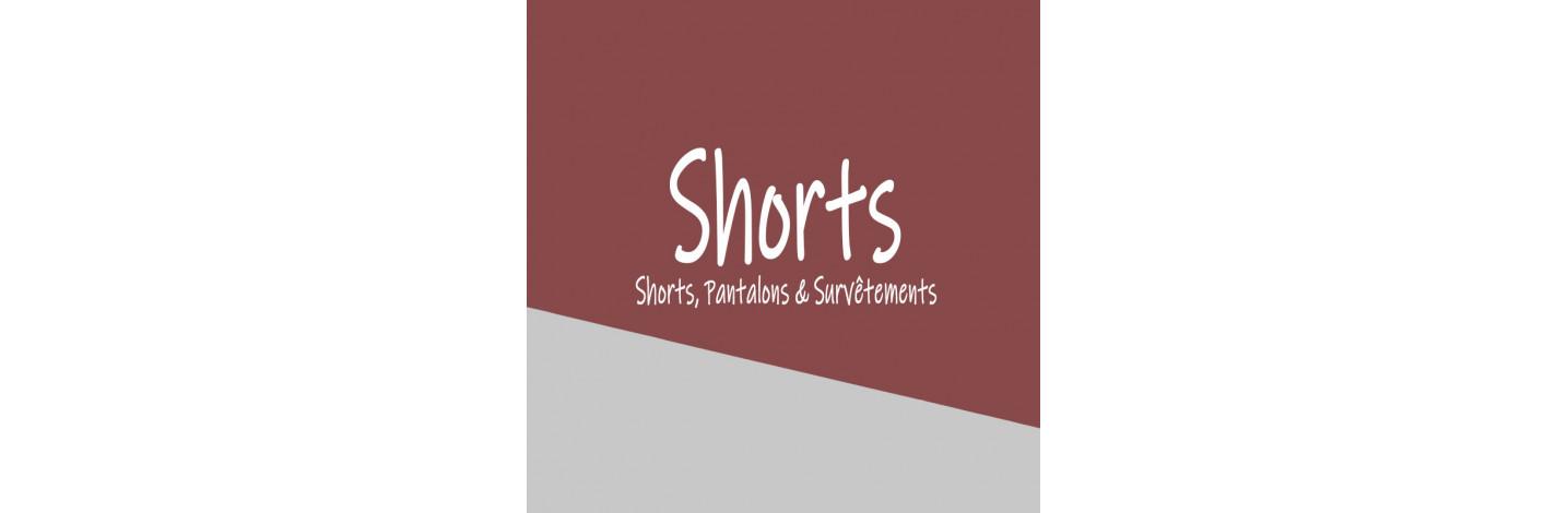 Shorts et pantalons pour homme