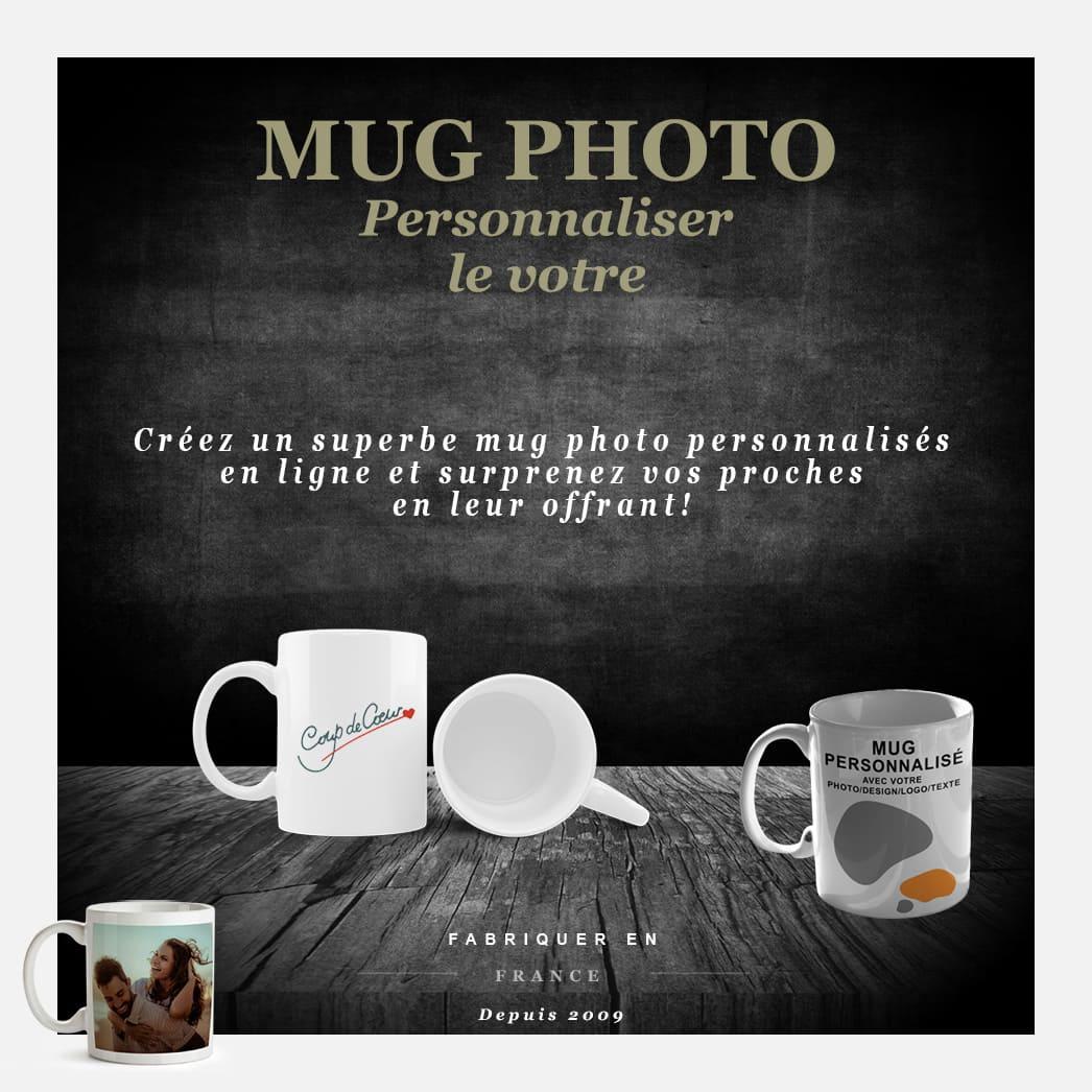 Idée cadeau pour vos proches, offrez-leur un mug photo personnalisé CYRENZO