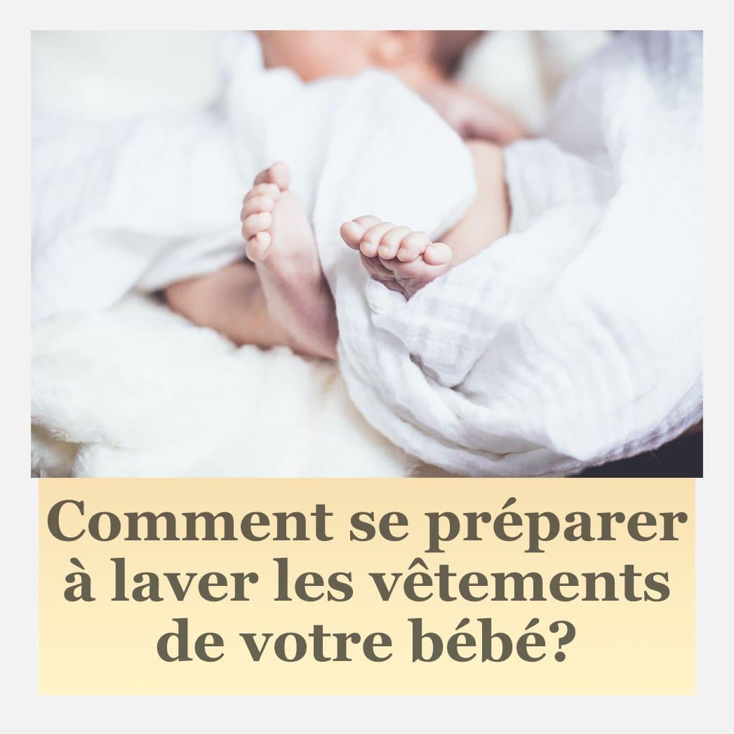 Comment laver les vêtements de bébé - Conseils et précautions CYRENZO