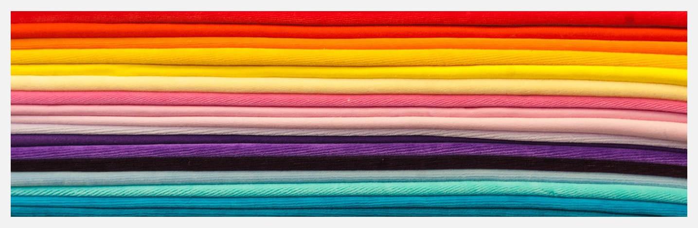 Glossaire des matériaux textiles dans notre boutique en ligne avec des