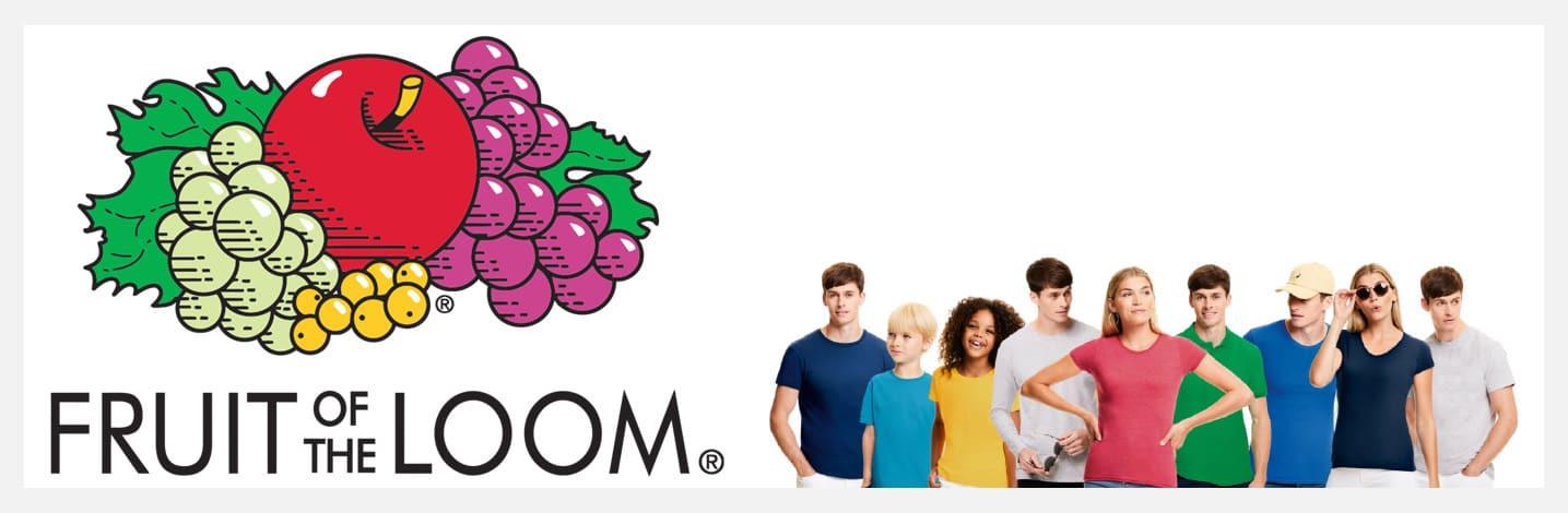 Découvrez la marque Américaine de vêtements Fruit of the Loom
