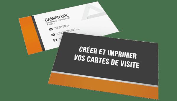 Imprimer votre carte de visite